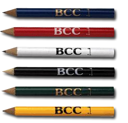 Custom Printed Golf Pencils